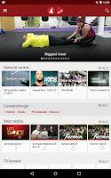 Screenshot of TV4 Play