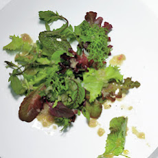 Wilted Greens with Warm Sherry Vingaigrette