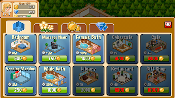 Screenshot of Hotel Story: Resort Simulation