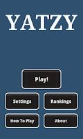 Screenshot of Yatzy