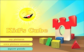 Screenshot of Kid's Cube