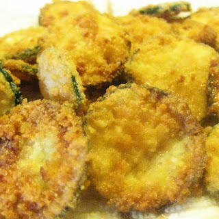 Coconut Fried Zucchini