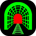 App 3D Train Tunnel LWP Free apk for kindle fire