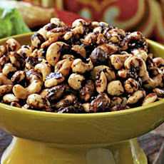 Indian-Spiced Roasted Nuts