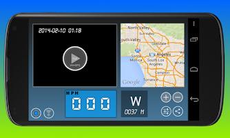 Screenshot of Dashboard Cam
