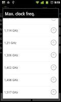 Screenshot of No-frills CPU Control