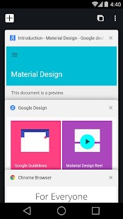 Chrome-Browser – Google Screenshot