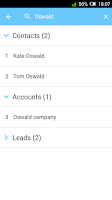 Screenshot of Call Tracker for Salesforce