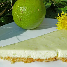 Easy Refrigerator White Chocolate Lime Pie (No-Bake)
