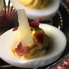 Bacon and Cheddar Deviled Eggs Recipe