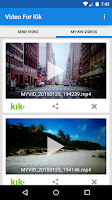 Screenshot of Video For Kik