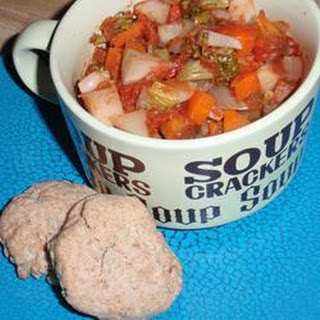 Yam and Turnip Stew with Mini-Biscuits