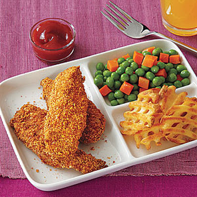 Crunchy Pecan-Crusted Chicken Fingers