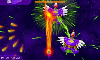 Screenshot of Chicken Invaders 4