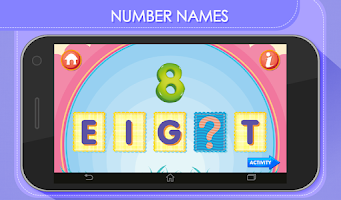 Screenshot of Kids Math Count Numbers Game