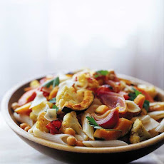 Pasta with Roasted Vegetables Recipe
