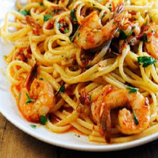 Shrimp Linguine Marinara