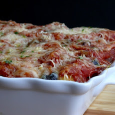 Penne Pasta Pizza Bake