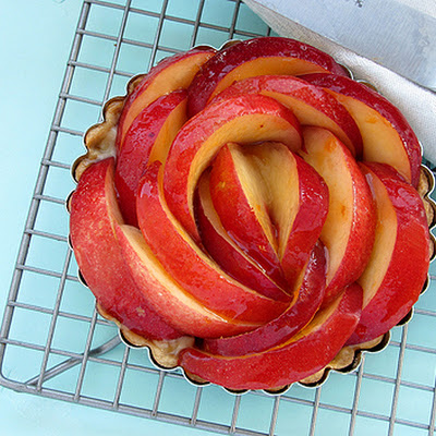 Ginger and Honey Nectarine Tarts