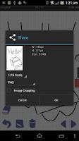 Screenshot of simpleaf (handwriting)