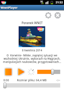 Screenshot of WnetPlayer - Radio Wnet