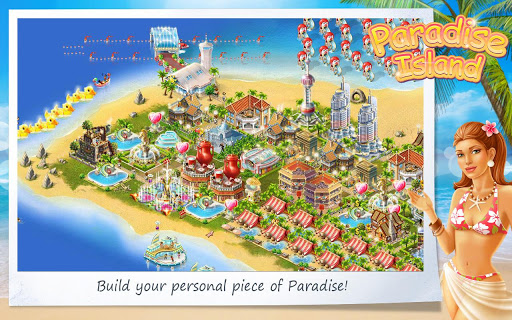 paradise-island for android screenshot