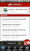 Screenshot of GoLiverpool