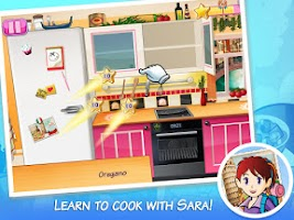 Screenshot of Sara's Cooking Class: Vacation