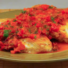 Sauteed Chicken Breasts Recipe with Warm Tomato-Tarragon Salsa