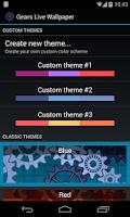 Screenshot of Gears 3D Live Wallpaper