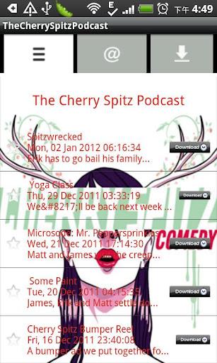 媒體與影片必備APP下載 TheCherrySpitzPodcast 好玩app不花錢 綠色工廠好玩App