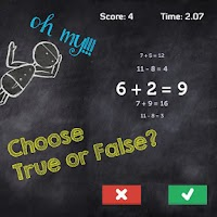 Screenshot of Math Attack - Quick Solve