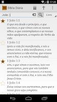 Screenshot of Versículo da Bíblia Diário
