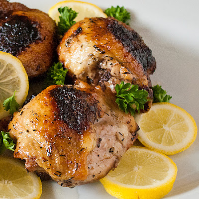 Sticky Lemon Chicken