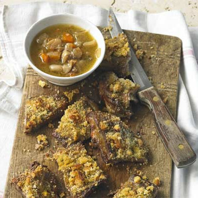 Mustard-crusted Breast Of Lamb