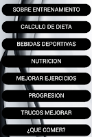 Screenshot of Dieta Musculacion Fitness