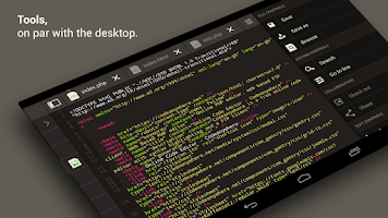 Screenshot of Codeanywhere