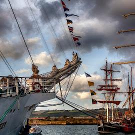 Tall ships  by John Richards - Transportation Boats ( sailing, tall ships, regatta )
