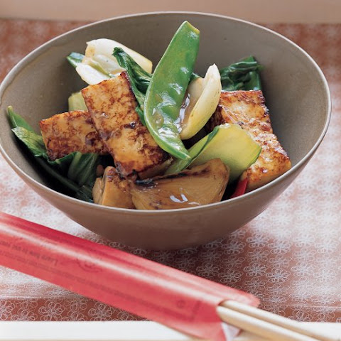 stir fry stir fried marinated tofu and mushrooms recipes dishmaps stir ...