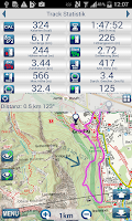 Screenshot of Outdoor and Hiking Navigation