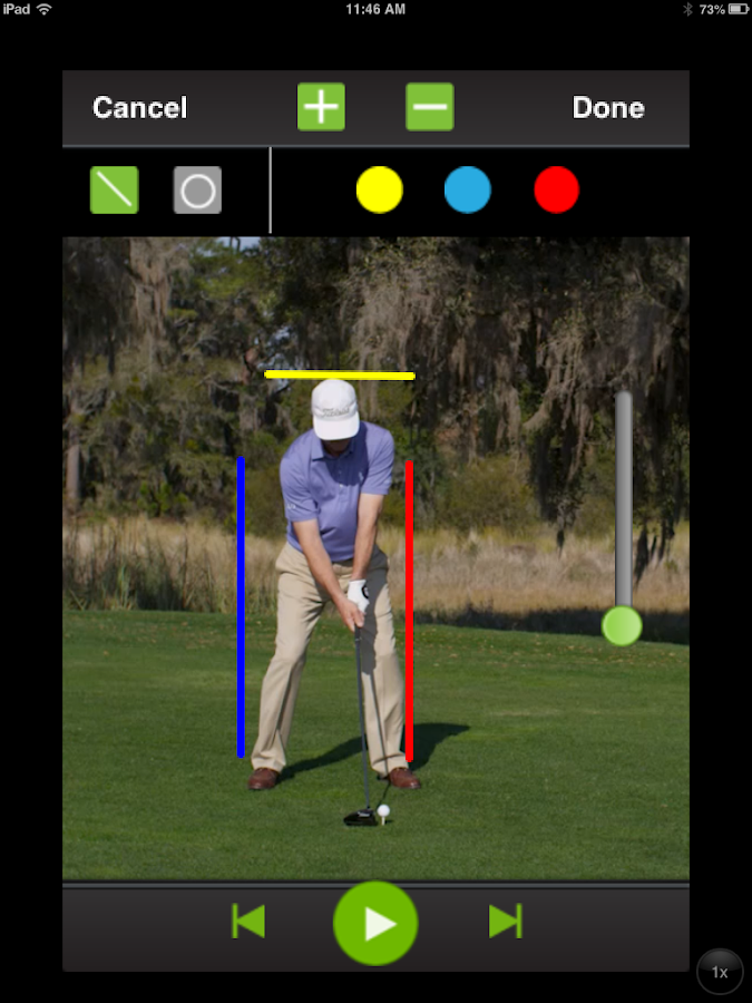 Golf Swing Apps For Android Iswing Iphone App Analyses