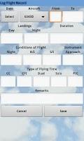 Screenshot of Pilot Log Pro