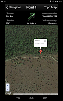 Screenshot of Land Nav Assistant