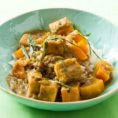 Tofu and Butternut Squash Curry