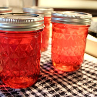 Unbelievably Easy County Fair Candy Apple Jelly and my first experience at canning!