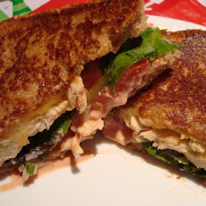 Tom's Salsa Ranch Chicken Sandwich