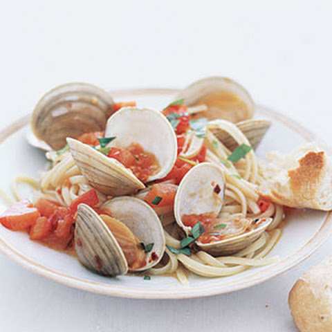 sour cherry clams linguine with clams and fennel recipe food wine clam ...