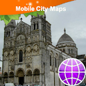 Angouleme Street Map icon