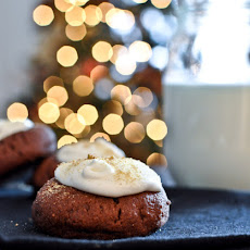 Chocolate Fudge S'mores Thumbprints