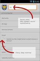 Screenshot of Słownik Języka Śląskiego